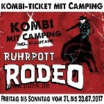: Ruhrpott Rodeo - 3-Tageskarte mit Camping